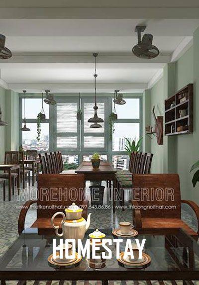 Thiết kế nội thất Homestay đường Tôn Thất Tùng