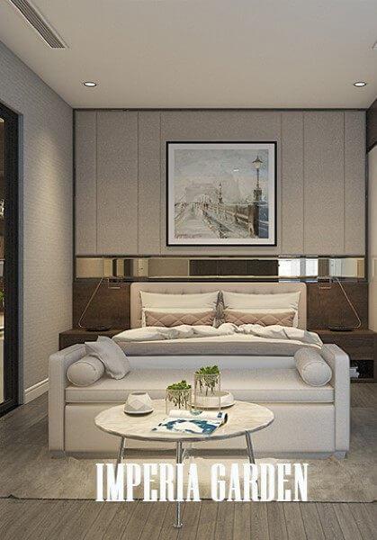 Thiết kế nội thất chung cư Imperia - Anh Nam hiện đại, tiện nghi