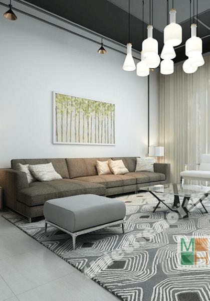 Thiết kế nội thất nhà liền kề kết hợp văn phòng làm việc - Mr Hùng