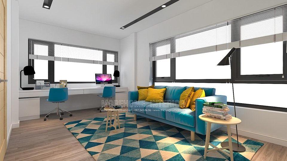 Thiết kế nội thất đẹp tại minori village 67a trương định hai bà trưng hà nội