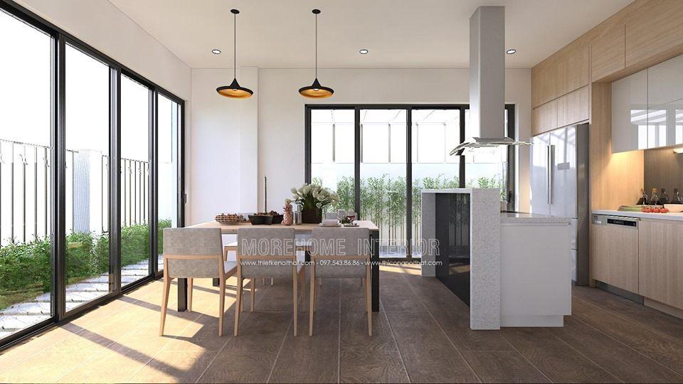 Thiết kế nội thất phòng ăn nhà đẹp tại minori village 67a trương định hai bà trưng hà nội