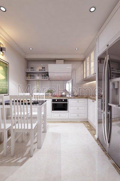 Thiết kế nội thất phòng ăn showroom áo cưới Calla Lily Vũng Tàu
