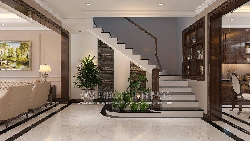 Thiết kế nội thất nhà liền kề an hưng la khê hà đông