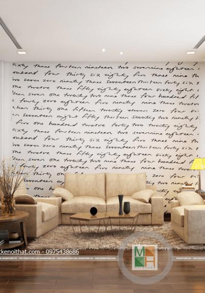 Thiết kế nội thất nhà liền kề - Mr Thắng