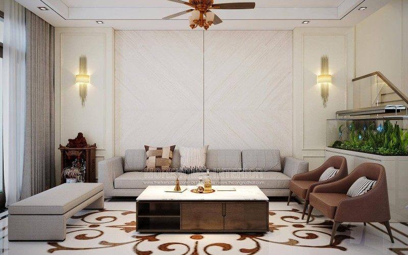 Thiết kế nội thất nhà lô tại quận hồng bàng hải phòng