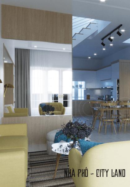 Thiết kế nội thất nhà phố City Land - Gò Vấp Tphcm