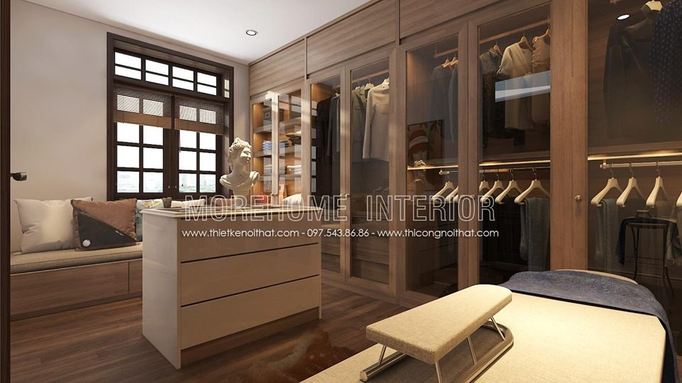 Thiết kế nội thất nhà phố đường Âu Cơ, Hà Nội