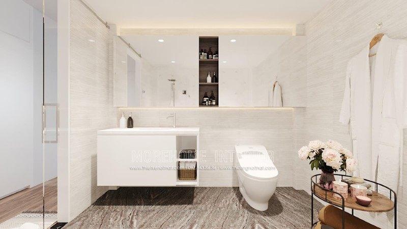 Thiết kế nhà tắm, phòng vệ sinh nhà phố trần bình