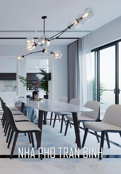 Thiết kế nội thất nhà phố Trần Bình hiện đại, sang trọng