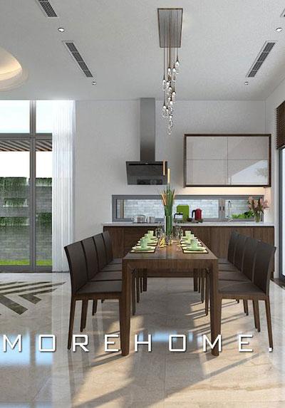 Thiết kế nội thất phòng bếp đẹp, sang trọng bạn nên tham khảo