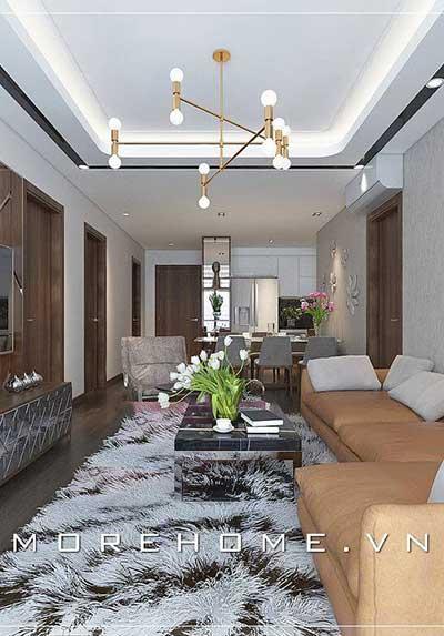 Ngắm nhìn các cách bố trí phòng khách chung cư