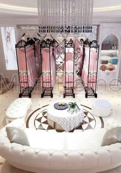 Thiết kế nội thất showroom áo cưới Calla Lily Vũng Tàu