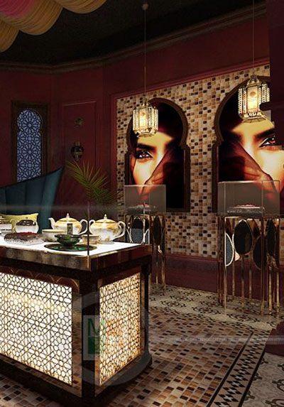Thiết kế nội thất showroom Saffron làm đẹp