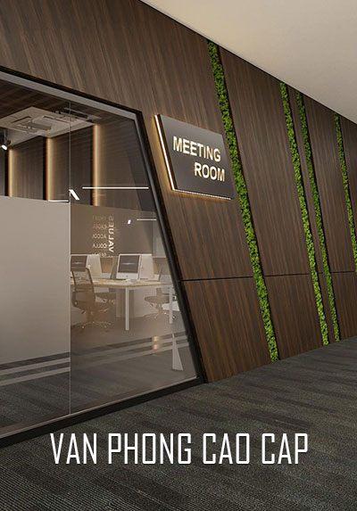 Thiết kế nội thất văn phòng hiện đại đẹp cao cấp sang trọng