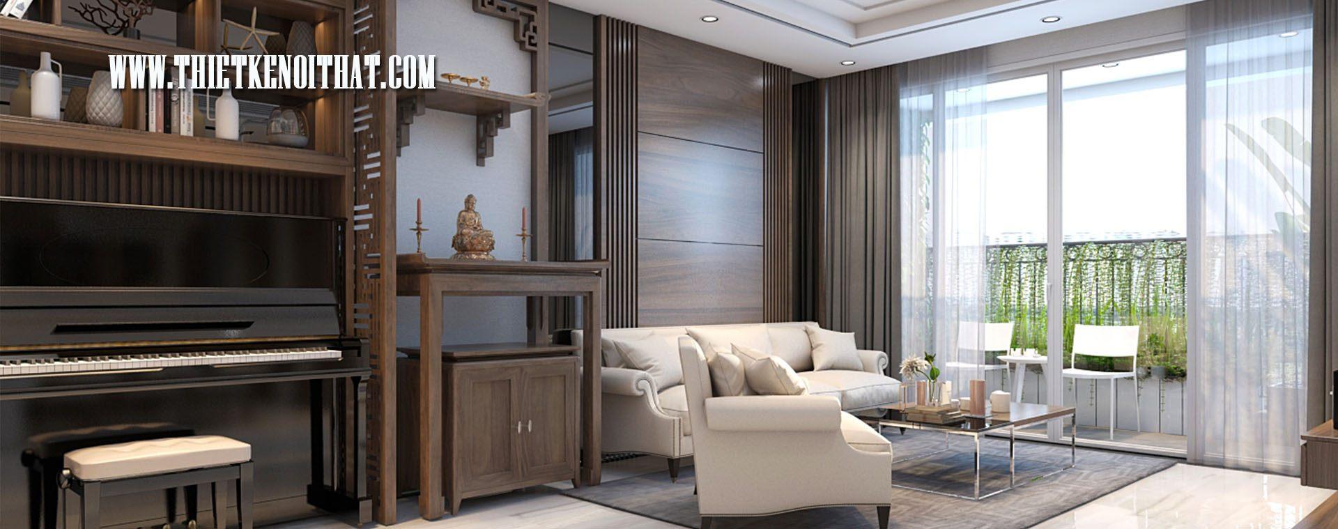 Thiết kế nội thất chung cư Vinhome Gardenia Mỹ Đình Nam Từ Liêm Hà Nội