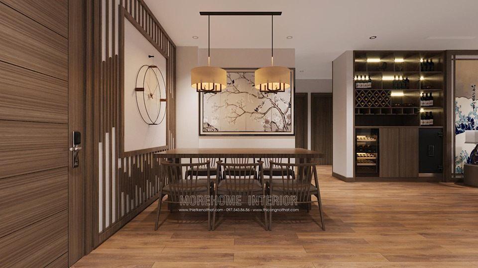 Thiết kế nội thất chung cư vinhoms skylake phạm hùng phong cách nhật