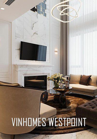Thiết kế nội thất chung cư Duplex cao cấp tại Vinhomes Westpoint