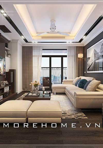 Những gợi ý các mẫu thiết kế phòng khách chung cư đẹp