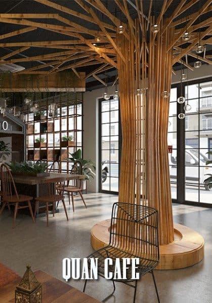 Thiết kế nội thất quán cafe lạ mắt với vẻ đẹp sáng tạo từ kts. Morehome