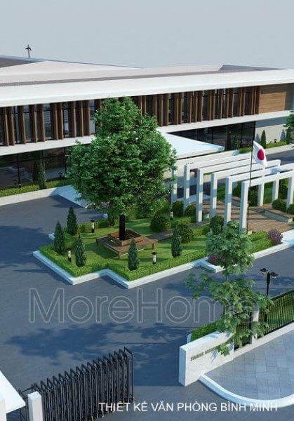 Thiết kế văn phòng công ty Bình Minh