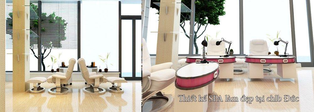 Thiết kế nội thất Spa tại CHLB Đức