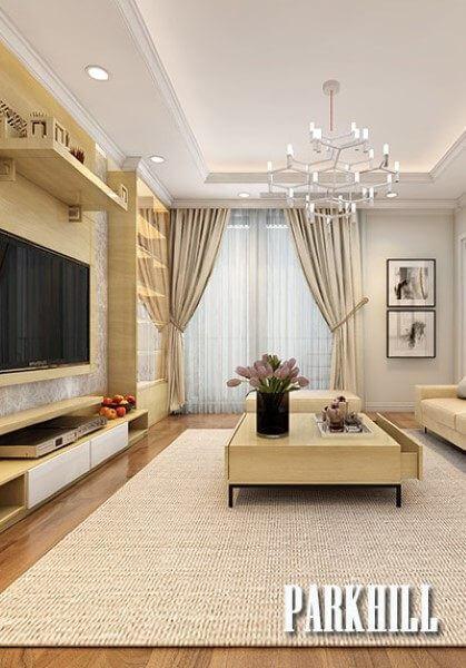 Chiêm ngưỡng mẫu thiết kế nội thất chung cư Park Hill Premium hiện đại