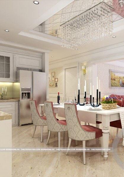 Thiết kế chung cư cao cấp Royal City - Chị Thảo