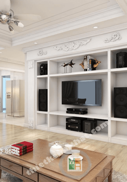 Thiết kế nội thất chung cư N04 - anh Thanh phong cách hiện đại đẹp
