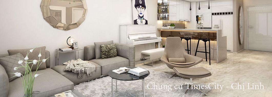 Thiết kế nội thất căn hộ chung cư TimesCity
