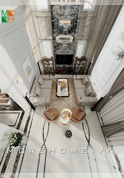 Thiết kế kiến trúc và nội thất biệt thự cao cấp tại Hà Nội