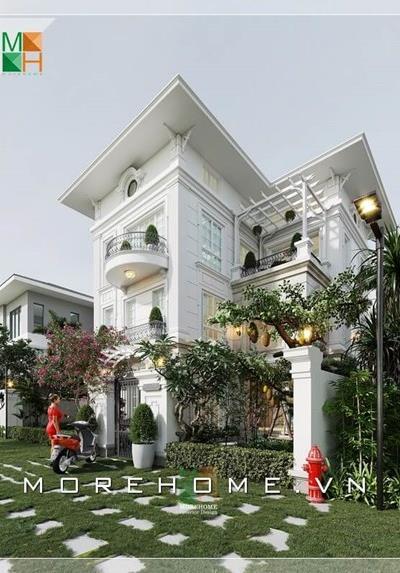 Thiết kế biệt thự tân cổ điển cao cấp tại Splendora An Khánh