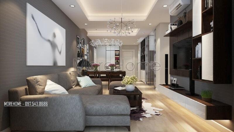 Giới thiệu các mẫu thiết kế phòng khách chung cư sang trọng