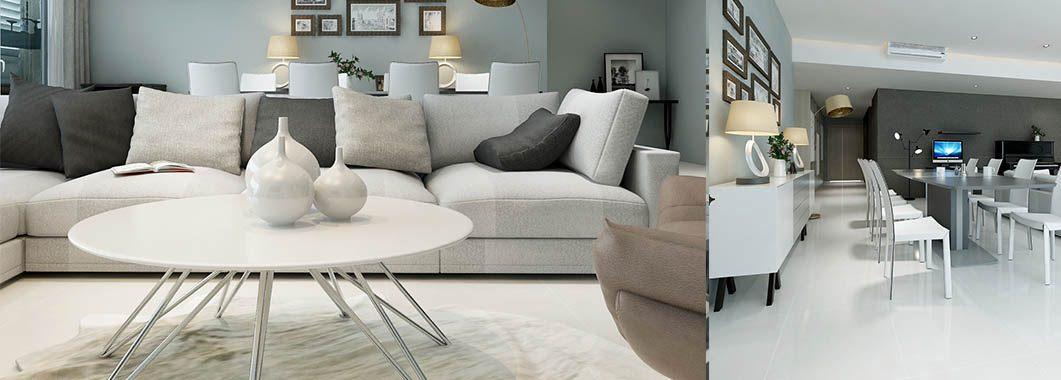 Thiết kế nội thất phòng khách chung cư Estella Quận 2 Hồ Chí Minh