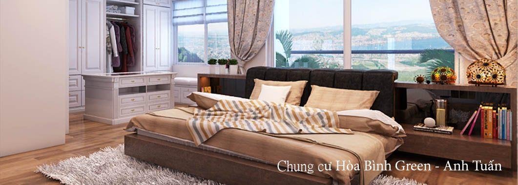 Thiết kế căn hộ chung cư Hòa Bình Green