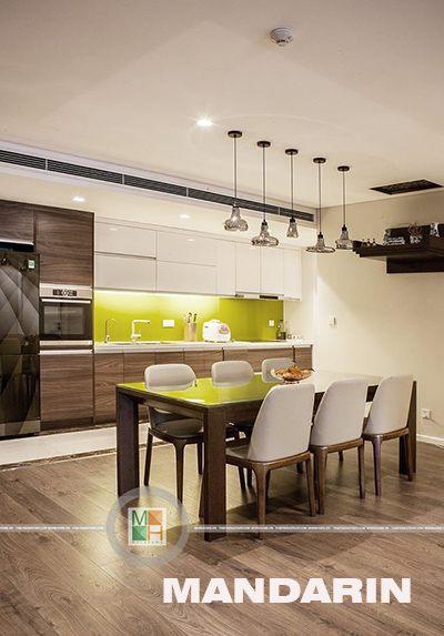 Thi công nội thất chung cư hiện đại tại Mandarin Garden