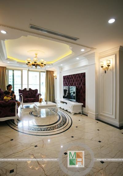 Thi công nội thất Mandarin Garden Hòa Phát - Mr Hùng