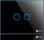 Công tắc cảm ứng LM-S2CN đen