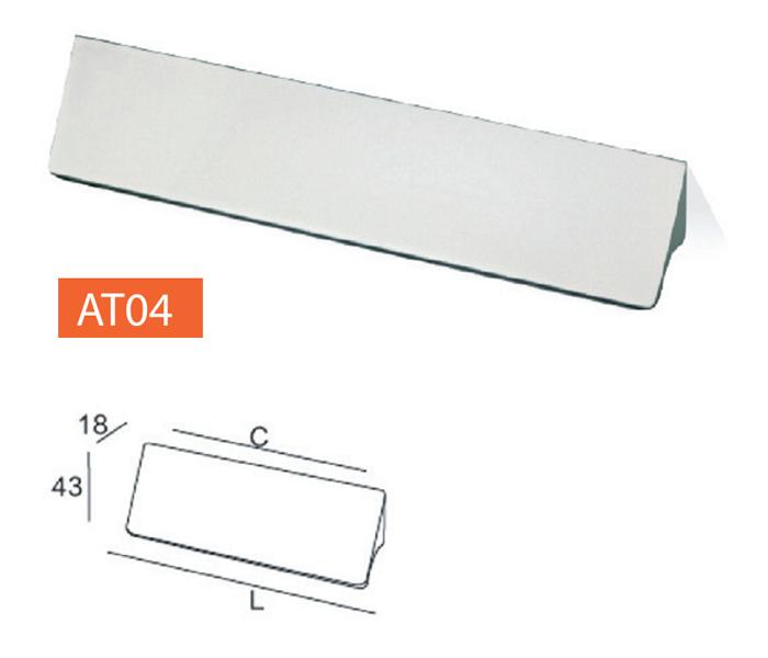 Tay nắm tủ AT04