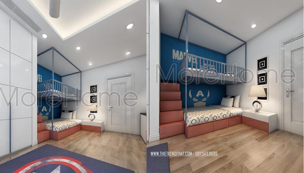 Mẫu giường tầng 03