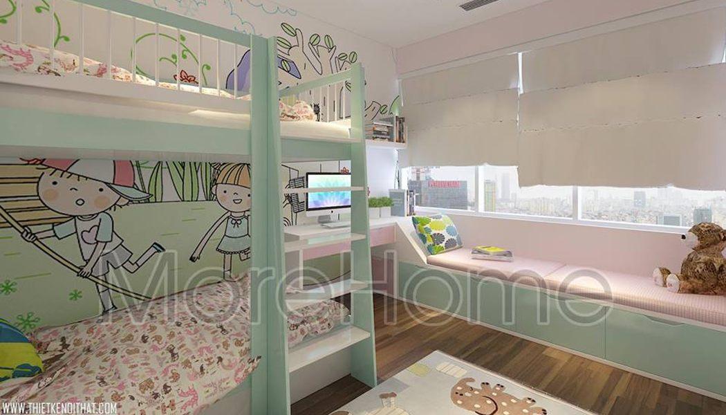 Giường tầng trẻ em - MH10