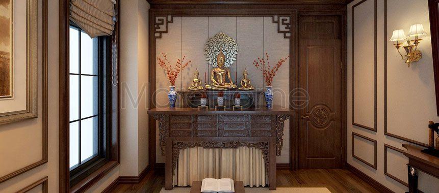 Bàn thờ Phật 2 tầng - Mẫu 011