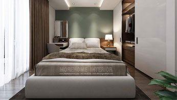 Giường ngủ đẹp tại căn hộ chung cư Imperia Garden