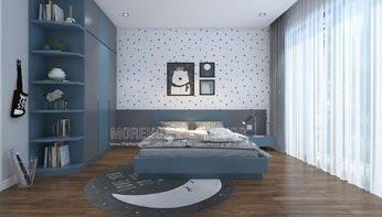 Giường ngủ trẻ em đẹp tại biệt thự Park City