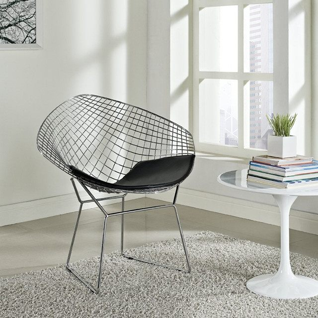 Harry Bertoia Wire Diamond Chair 3