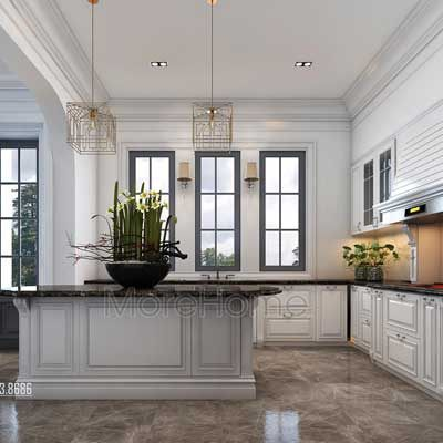 Tủ bếp hiện đại chung cư Park Hill - chị Dương