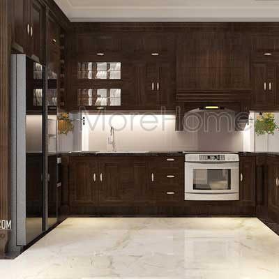 Thiết kế phòng bếp biệt thự FLC Thanh Hóa