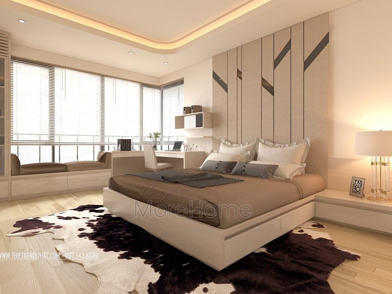 Nội thất phòng ngủ khách sạn đẳng cấp 5 sao