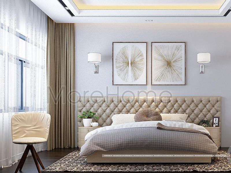 Thiết kế phòng khách sạn 3 sao đẹp
