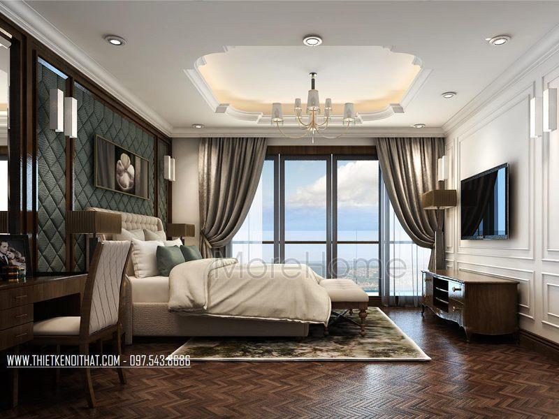Thiết kế nội thất khách sạn 5 sao - tân cổ điển tại Hà Nội