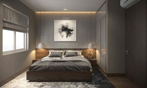 Thiết kế nội thất phòng ngủ đẹp cho chung cư AZ Sky Định Công